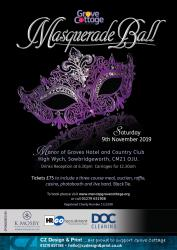 Grove Cottage Masquerade Ball